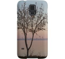 Soft, Pink Morning on the Lake Shore Samsung Galaxy Case/Skin