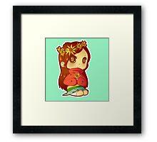 Mabel Flower Power Framed Print