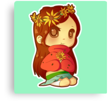 Mabel Flower Power Canvas Print