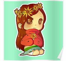 Mabel Flower Power Poster