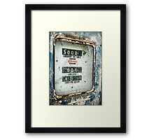 When Gas Made Cents Framed Print