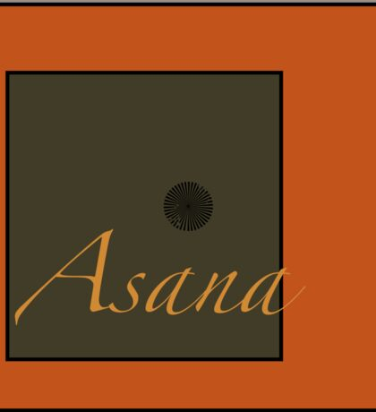Asana Sticker