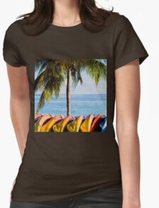 Bahama Vibes Womens Fitted T-Shirt