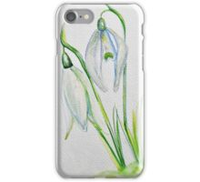 Snow drop iPhone Case/Skin
