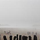 Misty beach by chelo