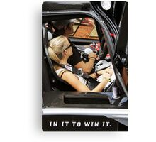 In it to win it Canvas Print