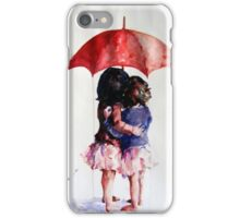 umbrella girls iPhone Case/Skin