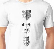 Geometric Fuzzy Friends Unisex T-Shirt
