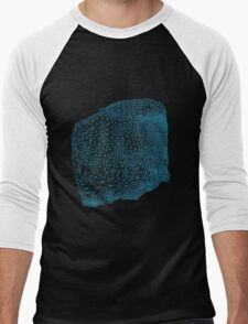 Geometric delauney triangulation design Men's Baseball ¾ T-Shirt