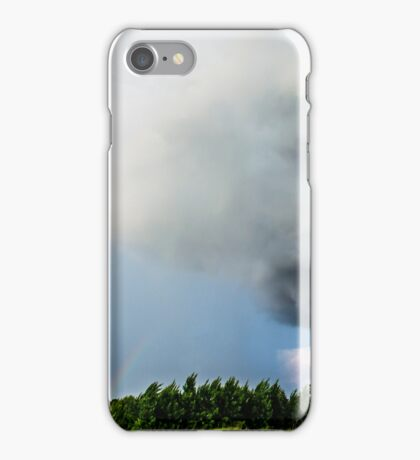 Rainbow in the Storm iPhone Case/Skin