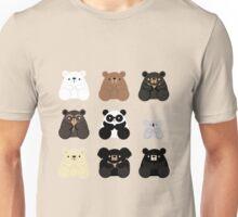 Types of bears Unisex T-Shirt