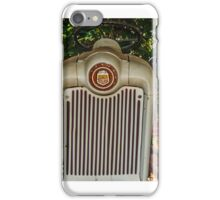 old tractor face iPhone Case/Skin