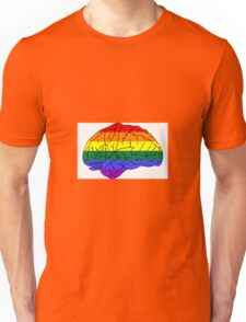 Gay Brain Unisex T-Shirt