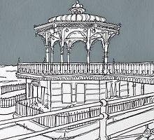 Brighton Bandstand by Adam Regester
