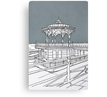 Brighton Bandstand Canvas Print