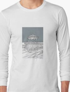 Brighton Bandstand Long Sleeve T-Shirt