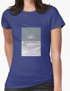 Brighton Bandstand Womens Fitted T-Shirt