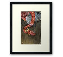 Breath of Death Framed Print