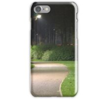 Well Lit Path iPhone Case/Skin