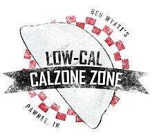 Ben Wyatt's Low-Cal Calzone Zone Photographic Print