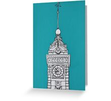 Brighton Clock Tower Greeting Card