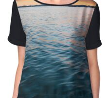 Beautiful Waters  Chiffon Top