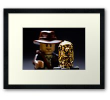 Indy and the Chachapoyan Fertility Idol Framed Print