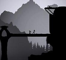 Skyrim Silhouette by SerLoras