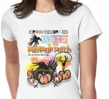 crowtoberfest harvest Womens Fitted T-Shirt