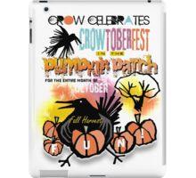 crowtoberfest harvest iPad Case/Skin
