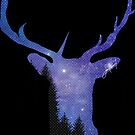 STAG NIGHT PRINT by soulseven7