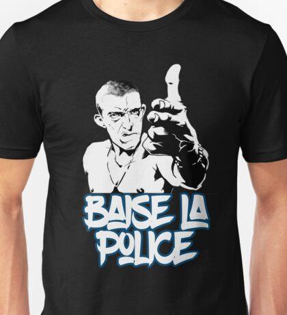 la haine the hate anti police acab movies film france french paris hip hop Unisex T-Shirt