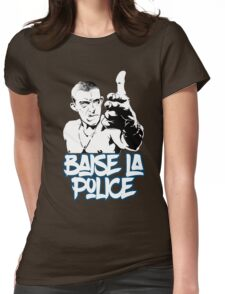 la haine the hate anti police acab movies film france french paris hip hop Womens Fitted T-Shirt