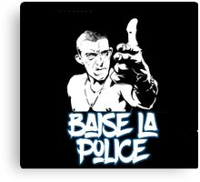 la haine the hate anti police acab movies film france french paris hip hop Canvas Print