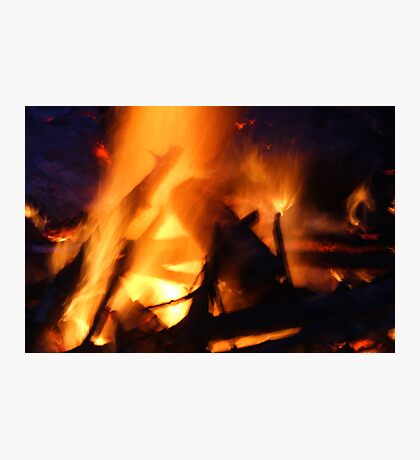 The Heat of Fire Photographic Print