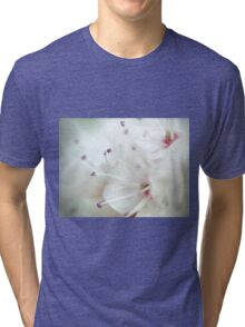 Super macro - this is NOT a cherry blossom! Tri-blend T-Shirt
