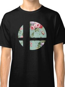Super Smash Bros. Floral Classic T-Shirt