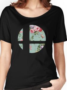 Super Smash Bros. Floral Women's Relaxed Fit T-Shirt
