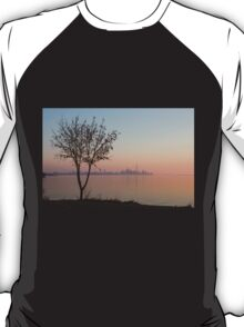Soft, Pink Morning on the Lake Shore T-Shirt