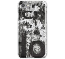old fading sign iPhone Case/Skin