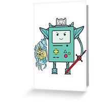 BMO MECH Greeting Card