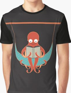 Booklover Octopus Graphic T-Shirt