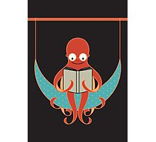 Booklover Octopus Photographic Print