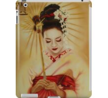 Geisha in Red iPad Case/Skin
