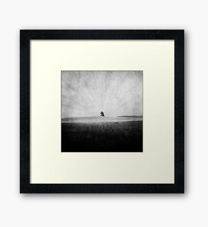 landscape. Framed Print