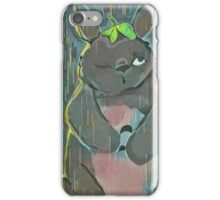 Goodmorning, Totoro iPhone Case/Skin