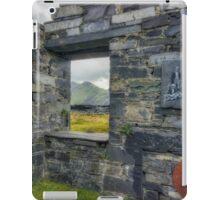 Slate Quarry Ruin iPad Case/Skin