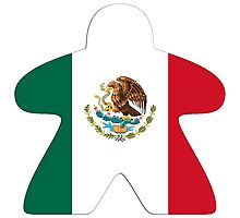 Mexican Meeple Design Photographic Print