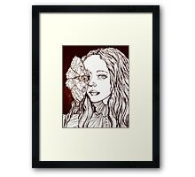 Peaking  Framed Print