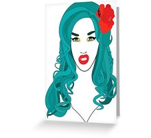 Adore Delano is a f*cking mermaid! Greeting Card